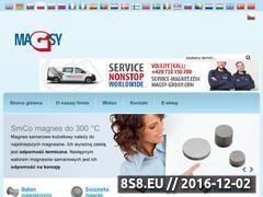 Miniaturka Magnesy, separatory metali, systemy magnetyczne (www.magsy.pl)
