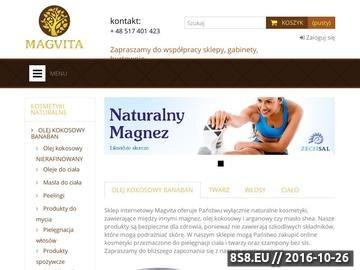 Zrzut strony Kosmetyki naturalne online