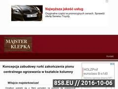 Miniaturka domeny www.majster-klepka.cba.pl