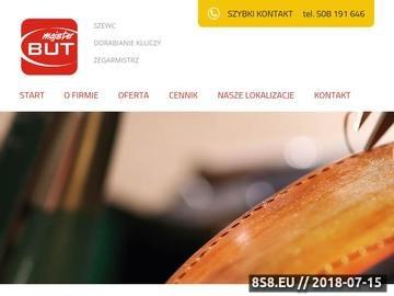 Zrzut strony Szewc Poznań