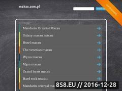 Miniaturka domeny www.makao.com.pl