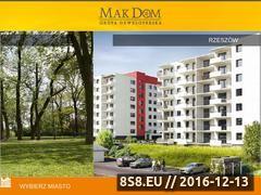 Miniaturka domeny www.makdom.pl