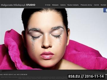 Zrzut strony Profesjonalne kursy makijażu Kraków