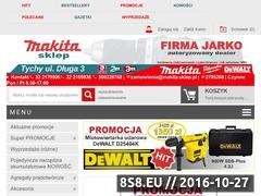 Miniaturka domeny www.makita.sklep.pl