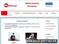 Miniaturka domeny maklers.pl