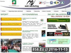 Miniaturka domeny www.makmarketing.pl