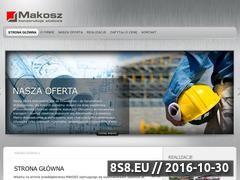Miniaturka domeny www.makosz.com.pl