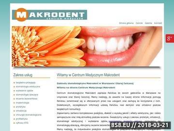 Zrzut strony Chirurgia stomatologiczna oraz bezwiertowe leczenie
