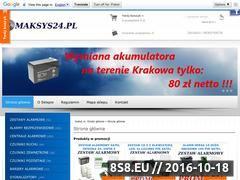 Miniaturka domeny maksys24.pl