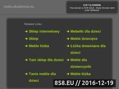 Miniaturka domeny www.mala-akademia.eu