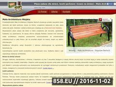 Miniaturka domeny www.mala-architektura-narloch.pl