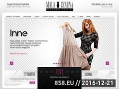 Miniaturka domeny www.mala-czarna.org