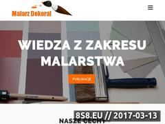 Miniaturka domeny malarz-dekoral.com.pl