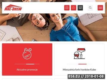 Zrzut strony Materiały budowlane Gliwice - Maldrew