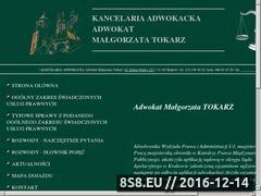 Miniaturka domeny malgorzatatokarz.pl