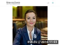 Miniaturka domeny malgorzatazawada.pl