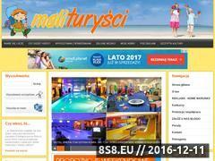 Miniaturka domeny www.maliturysci.pl