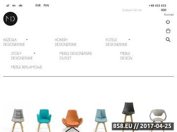 Zrzut strony Meble design - Malo Design