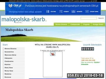 Zrzut strony Malopolska-Skarb