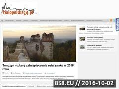 Miniaturka domeny www.malopolska24.pl
