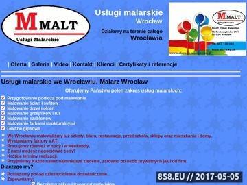 Zrzut strony Uslugi malarskie Wrocław