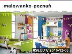 Miniaturka Malowanie Poznań - malowanie wnętrz, usługi malarskie i remontowe (malowanko-poznan.pl)