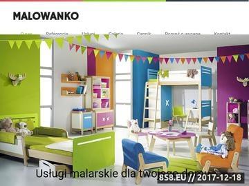 Zrzut strony Malowanie Poznań - usługi malarskie i usługi remontowe