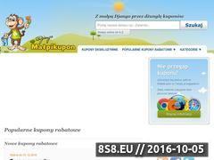 Miniaturka domeny malpikupon.pl