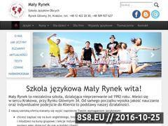 Miniaturka domeny www.malyrynek.pl