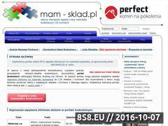 Miniaturka domeny www.mam-sklad.pl