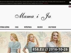 Miniaturka domeny www.mamaija.com.pl