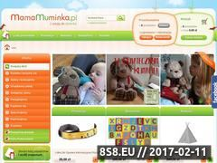 Miniaturka domeny mamamuminka.pl