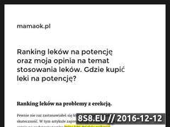 Miniaturka domeny www.mamaok.pl