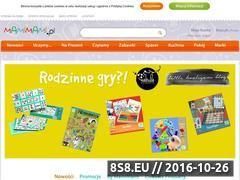 Miniaturka domeny mamimami.pl