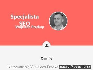 Zrzut strony Specjalista SEO - Wojciech Przekop