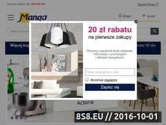 Miniaturka domeny www.mango.pl