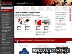 Miniaturka domeny www.manom.pl