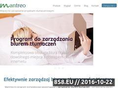 Miniaturka domeny mantreo.pl