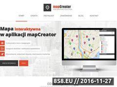 Miniaturka domeny www.mapcreator.pl
