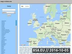 Miniaturka domeny mapy.webatu.com