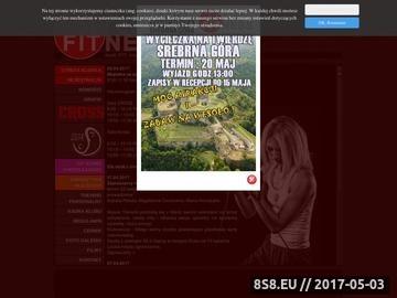 Zrzut strony Nowoczesne formy fitness - Aerobik Pilates - Strzelin Mar-FITt Maria Horodyska