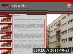 Miniaturka domeny marbud-nadzorbudowlany.pl