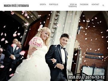 Zrzut strony Fotografia ślubna Kraków