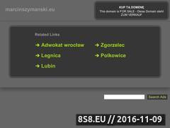 Miniaturka domeny marcinszymanski.eu