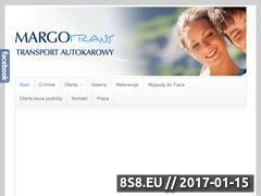 Miniaturka domeny margotrans.com.pl