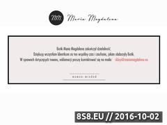 Miniaturka domeny mariamagdalena.eu