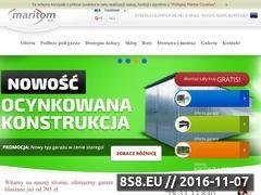 Miniaturka domeny www.maritom.pl