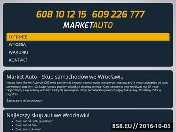 Zrzut strony Skup aut Wrocław - Market Auto tel. 608 10 12 15