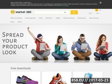 Zrzut strony Packshot 360