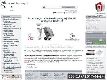 Zrzut strony Artykuły biurowe
